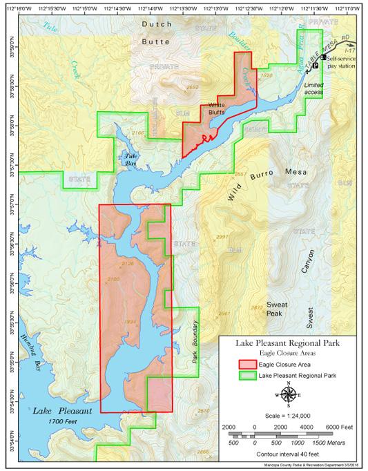 lake pleasant arizona map Pleasant lake pleasant arizona map